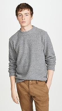 띠어리 울 캐시미어 스웨터 Theory Birch Tech Wool Cashmere Sweater,Grey Heather