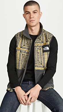 노스페이스 후리스 조끼 The North Face M DenaliI Fleece Vest,Asphalt Grey LCD Capsule Print