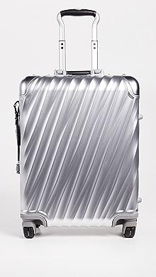 투미 캐리어 Tumi 19 Degree Aluminum Continental Carry On Suitcase,Silver