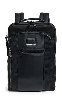 투미 알파 브라보 데이비스 백팩 - 블랙 Tumi Alpha Bravo Davis Backpack,Black