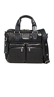 투미 알파 브라보 알바니 슬링 서류가방 Tumi Alpha Bravo Albany Slim Commuter Briefcase,Black