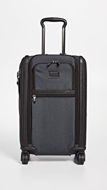 투미 알파 듀얼 소프트 캐리어 Tumi Alpha International Dual Access 4 Wheel Carry On,Anthracite