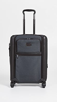 투미 알파 소프트 캐리어 Tumi Alpha Continental Dual Access 4 Wheel Carry On,Anthracite