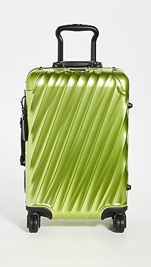 투미 캐리어 Tumi 19 Degree Aluminum International Carry On,Bright Lime