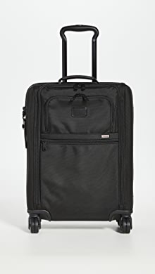 투미 알파 슬림 소프트 캐리어 Tumi Alpha International Slim Super Leger Carry On,Black