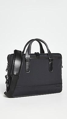 투미 슬림 서류가방 Tumi Harrison Sycamore Slim Briefcase,Black