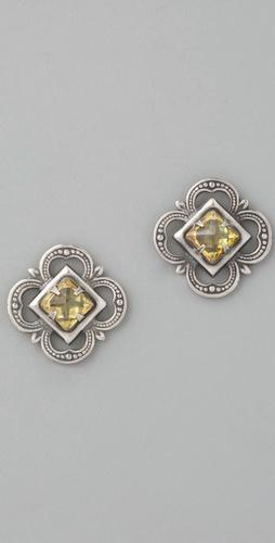 Bing Bang Heirloom Pyramid Earrings