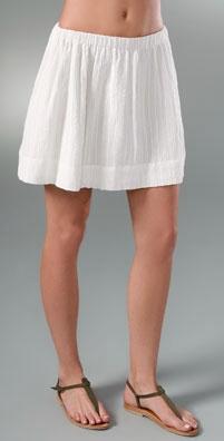 Bop Basics Gauze Skirt: $25.50