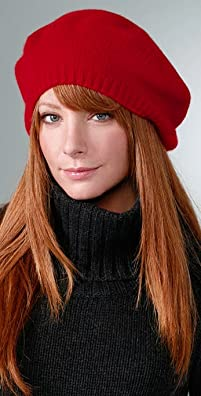 Red Knit Beret