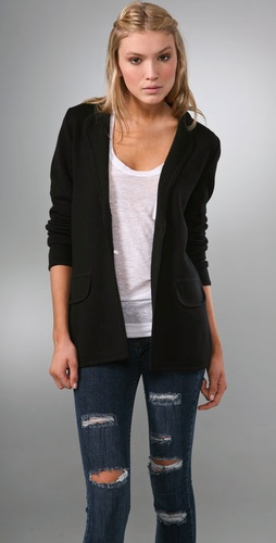 Bop Basics Long Wool Blazer