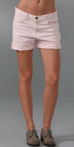 Current/Elliott The Rolled Boyfriend Shorts