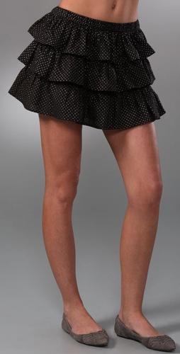 Dallin Chase Melvin Polka Dot Skirt