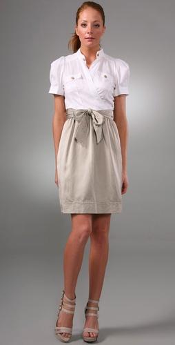 Diane von Furstenberg Steele Wrap Dress