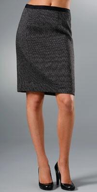 DKNY Knee Length Pencil Skirt