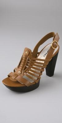 DKNY Huarache Sandals: $135