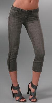 Genetic Denim Kyle Zipper Cropped Jeans