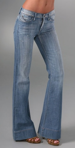 GoldSign Stardust Ultra Flare Jeans