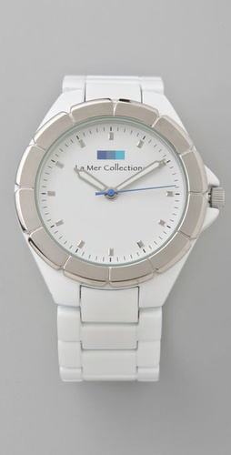 La Mer Collections White Ombre Watch