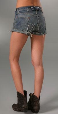 Levi's Capital E Shorty Shorts