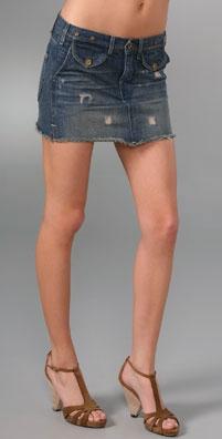 Madewell for Shopbop Station Denim Skirt