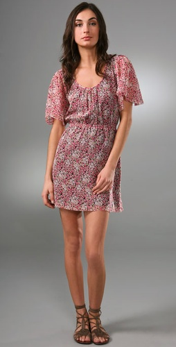Madewell Georgette Flutter Dress