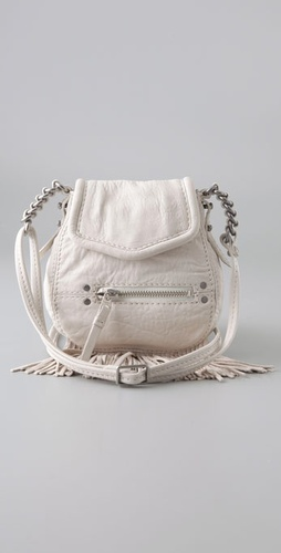 Madewell Mini Fringe Cross Body Bag