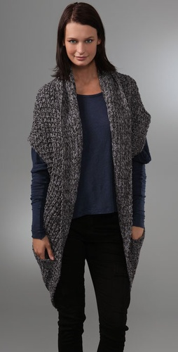 Patterson J. Kincaid Chunky Cocoon Cardigan