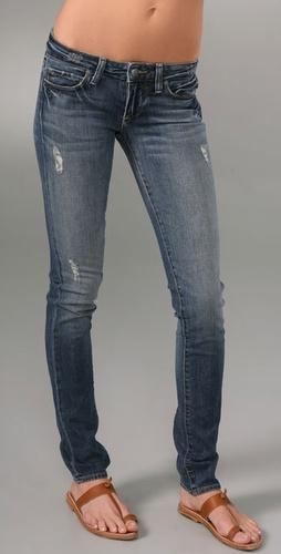Paige Denim Skyline Drive Peg Leg Jeans