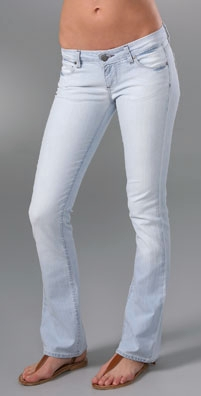 Paige Denim Beverly Straight Leg Jeans