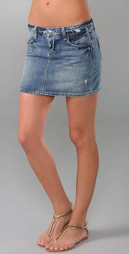 Paige Denim Poppy Denim Skirt