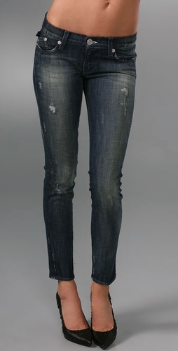 Rock & Republic Posey Low Rise Skinny Jeans