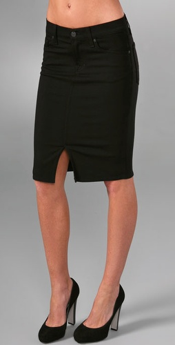 7 For All Mankind Roxanne Pencil Skirt