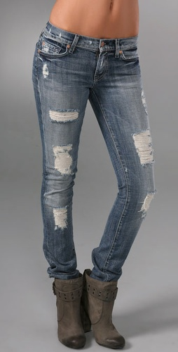 7 For All Mankind Roxanne Celeb Skinny Jeans