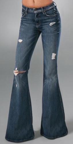 7 For All Mankind Vintage Bell Bottom Jeans