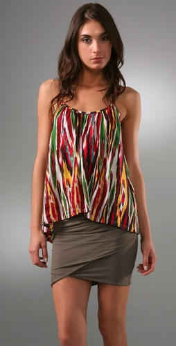 Torn by Ronny Kobo Megan Tribal Rainbow Tank