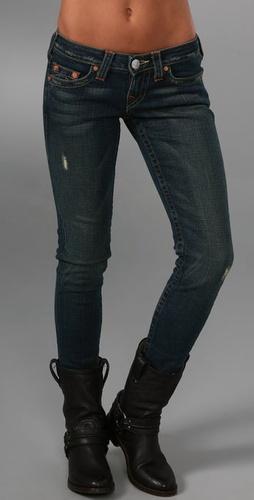 True Religion Petite Stella Skinny Jeans