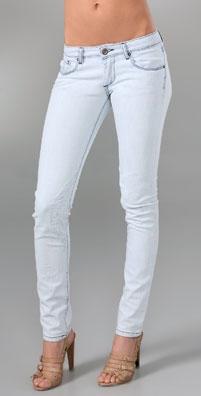 Unknown Factory Biker Skinny Jeans