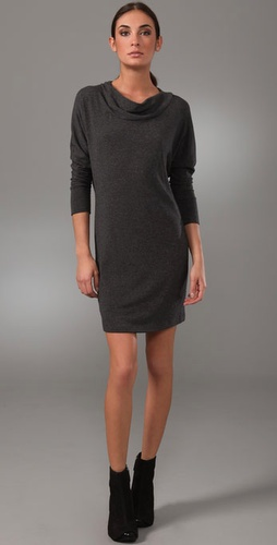 Vince Dolman Sleeve Sweater Dress