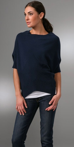 Vince Checkerboard Cashmere Sweater