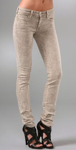 Vince Denim Acid Wash Skinny Jeans