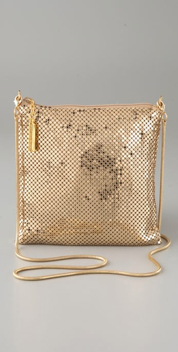 Whiting & Davis Classic Cross Body Bag