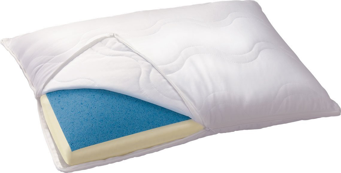 Where To Buy Serta Reversible Gel Memory Foam Classic Pillow In