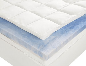Amazon Com Sleep Innovations 4 Inch Dual Layer Mattress