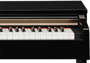 yamaha arius ydp c71pe digital piano 88 key polished ebony musical instruments. Black Bedroom Furniture Sets. Home Design Ideas
