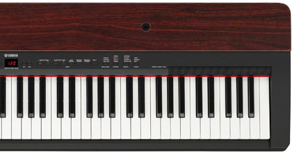 Amazon Com Yamaha P155 Contemporary Piano With Mahogany