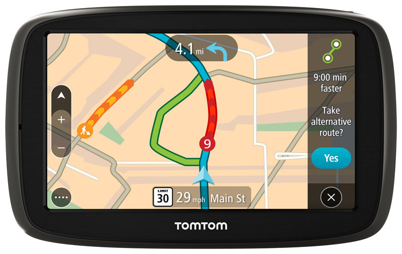new tomtom go 50 3d 5 portable gps with lifetime maps and traffic receiver ebay. Black Bedroom Furniture Sets. Home Design Ideas