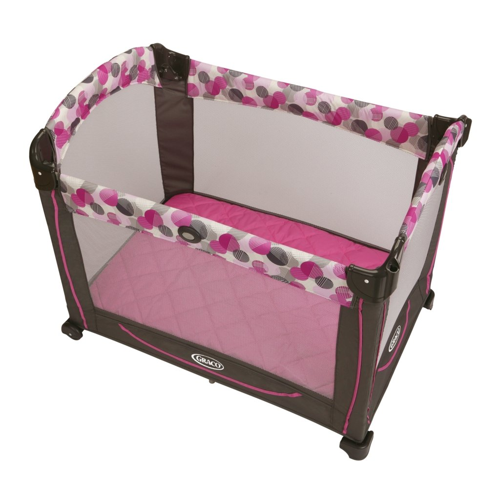 graco element lexi pink travel bassinet crib playard pack n and play pen nib new ebay. Black Bedroom Furniture Sets. Home Design Ideas