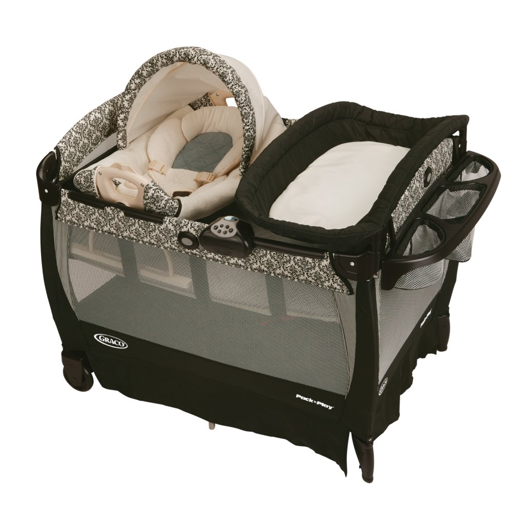 Graco Rittenhouse Cuddle Cove Travel Bassinet Crib Playard