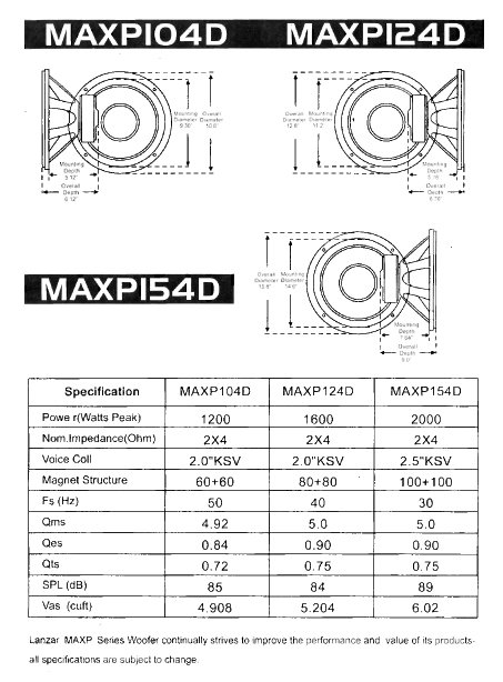 Amazon Com Lanzar Maxp104d Max Pro 10 Inch 1 200 Watt