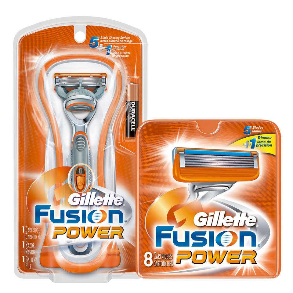 Gillette Power Fusion Soin Du Visage Sur Enperdresonlapin